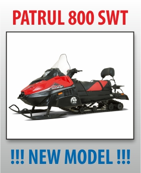 snowmobile PATRUL